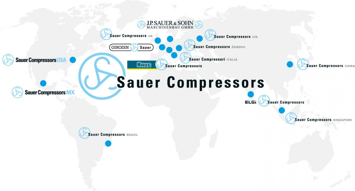 foto company locations sauer compressors